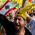 Hezbollah rally, Friday Photo: Reuters