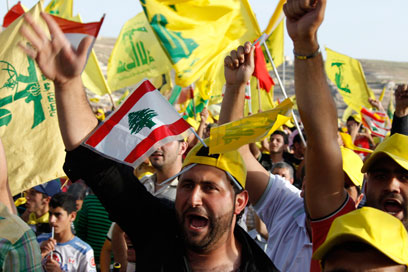 Hezbollah rally in Lebanon (Archive photo: Reuters)
