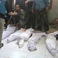 UN monitors in Houla Photo: Reuters