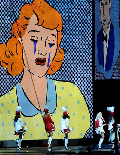 עוד בתוכנית האמנותית: ציורי קיר (צילום: יובל חן, ידיעות אחרונות)