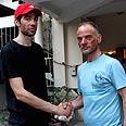 Ben-Yehuda with Irmak Photo: Prakash Timilsena