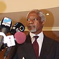 Efforts failing. Annan Photo: EPA