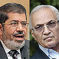 Morsi (L) vs. Shafiq Photo: Reuters