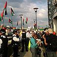 Pro-Palestinian protest Photo: Rona Zinman