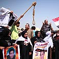 Protesters in Cairo demand execution Photo: Reuters