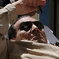 Mubarak in court Photo: AFP