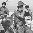 IDF Chief Eitan, Defense Minister Sharon (archives) Photo: IDF Archives