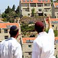 Beit El's Ulpana neighborhood Photo: Amir Levy