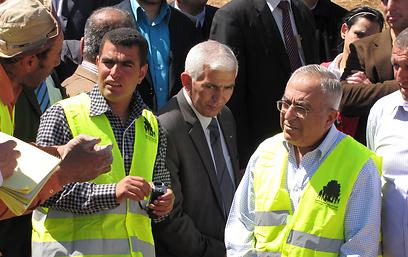 נאסר נוואג'עה וסלאם פיאד (צילום: באדיבות בצלם)
