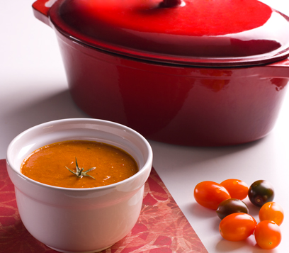 מרק עגבניות קלוי (צילום: ראובן אילת)