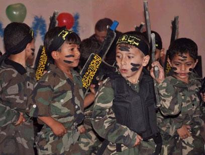 חגיגת סיום של הילדים הקטנים בעזה ()