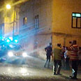 Scene of brawl in Kfar Manda Photo: Muhammad Shinawi