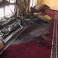Damage caused to mosque Photo: Iyad Hadad, B'Tselem