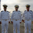 Tuesday's Navy ceremony Photo: IDF Spokesperson's Unit