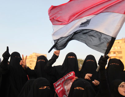 Cairo women celebrate Brotherhood victory (Archive photo: Reuters)