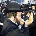 Haredim protest against draft Photo: Shmuel Ben Yishai, 24 News