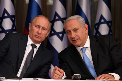 Putin and Netanyahu (Photo: Marc Israel Sellem)