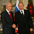 Peres and Putin Photo: Gil Yohanan