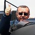 Turkish PM Erdogan Photo: AFP