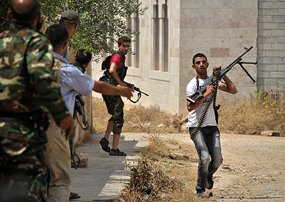 Syrian rebels in Idlib (Photo: AP)