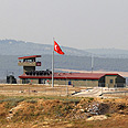 Turkish base on Syria border Photo: Reuters