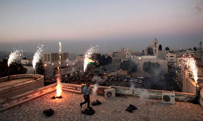 """""""אפילו ישראל מרוויחה מההכרזה"""" (צילום: רויטרס)"""