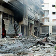 A store in Homs Photo: Reuters