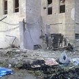 Shelling aftermath in Douma Photo: Reuters