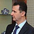 Assad: Not concerned for wife, children Photo: AFP