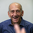 Ehud Olmert Photo: Gil Yohanan