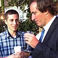 Gilad Shalit with Bigot Photo: Shiti Hadar