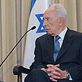 Shimon Peres Photo: Mark Neiman, GPO