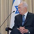 Shimon Peres Photo: Mark Neiman, GPO
