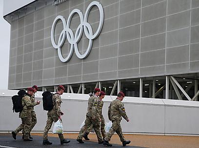 הצבא מתגבר את אבטחת האירוע (צילום: AP)
