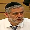 Interior Minister Eli Yishai