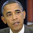 'Safe and secure Israel.' Obama Photo: AP