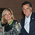 Romney and his wife in Israel Photo: Reuters