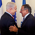 'You said US would act.' PM (L) and Panetta Photo: EPA