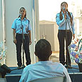The singing policewomen