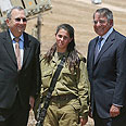 US defense secretary visits Iron Dome unit Photo: Reuters