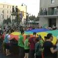 Marching with pride Photo: Avi Peretz