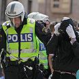 2 officers injured Photo: AP