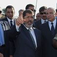Morsi in al-Arish Photo: AFP