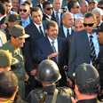 Morsi in Sinai after terror attack Photo: AFP