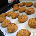 עוגיות חמאת בוטנים צילום: עינת שגיא