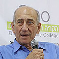 Olmert. Photo: Ofer Amram