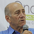 'Headlines worry me,' Olmert Photo: Ofer Amram