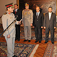Morsi swears-in new defense minister Photo: AP