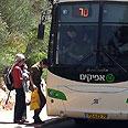 Afikim bus (Archives)