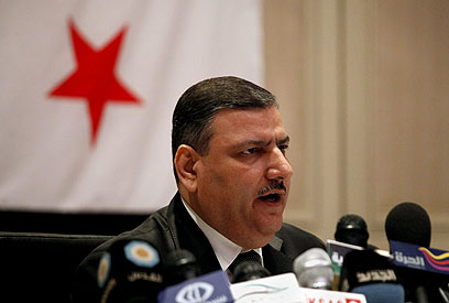 Former Syrian Prime Minister Riad Hijab (Photo: AP)